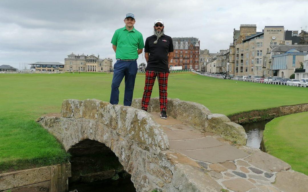Winners 2020 return from St Andrews trip.
