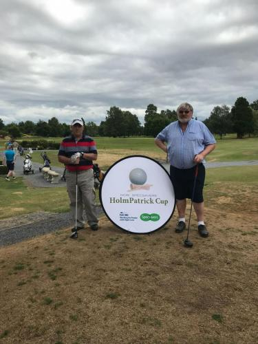 Trevor Melbourne & Michael W O'Meara from Slievenamon Golf Club